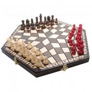 Шахматы для 3-их, 3163 Madon 20*35см средние