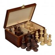 Шахматные фигуры №4, Стаунтон 2042 коробка