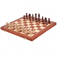 Шахматы турнирные №4, Węgiel 2054, 42x42см