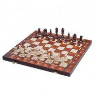 Шахматы+шашки+нарды Węgiel 2066 42х42см