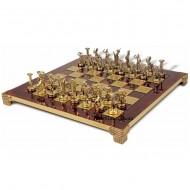 "Шахматы S-6 36х36см, Manopoulos ""Титаны"""