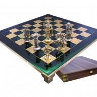 "Шахматы S-11 44х44см, Manopoulos, ""Война"""