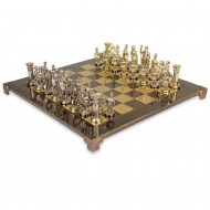 "Шахматы S-11 44х44см Manopoulos, ""Война"" кор"