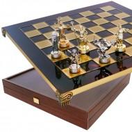 "Шахматы ""Олимп битва"" S-4 Manopoulos 36х36см"