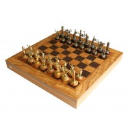 Шахматы Manopoulos, SEK-4 Троя 41х41см