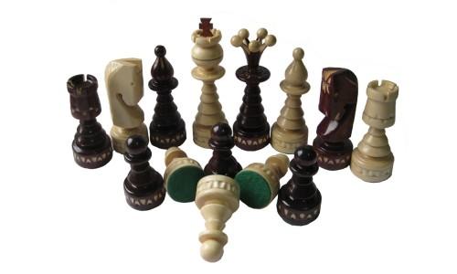 "Шахматные фигуры №6, ""Ёлки"" Madon 50х50см"