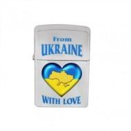 Зажигалка Zippo, 207FU, Украина