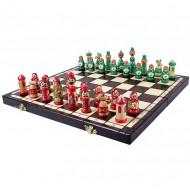 """Шахматы """"Матрёшки"""", 3137 Madon 42х42см"""