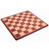 Шахматная доска №5, интарсия падаук 45*45см