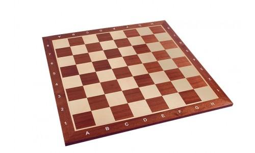 Шахматная доска №6, красное дерево 54х54см