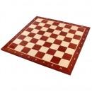 Шахматная доска №5, красное дерево 48х48см