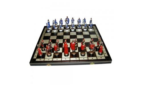 Шахматы Киевская Русь,  48х48см +сумка