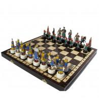 Шахматы Хмельницкий Казаки 42х42 +сумка