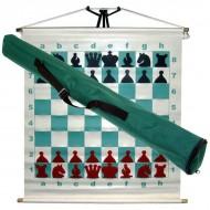 Шахматы 67х67см, демонстрационные