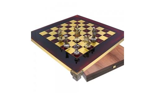 "Шахматы S-03 28х28см, Manopoulos, ""Война"""
