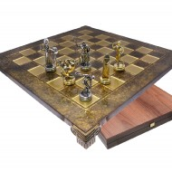 Шахматы S-07 36х36см Manopoulos Олимпиада