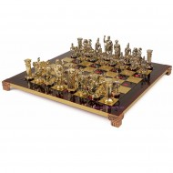 "Шахматы S-11 44х44см, Manopoulos, ""Римляне"""