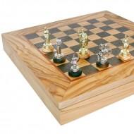 Шахматы Manopoulos, SEK-3 Война 34х34см