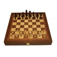 Шахматы +нарды+шашки,  STP-36E, 41х41см