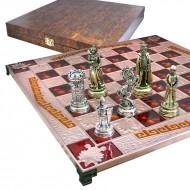 "Шахматы 86-4501 45х45 Marinakis, ""Рыцари"""