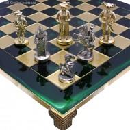 Шахматы S12-03 44х44 Мушкетеры Manopoulos
