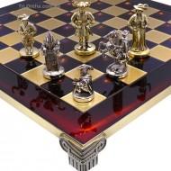 Шахматы S12-04 44х44 Manopoulos, Мушкетеры