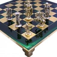 "Шахматы S11-03 44х44, ""Война"" Manopoulos"
