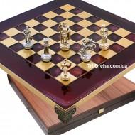 "Шахматы S03-04 28х28, Manopoulos, ""Война"""