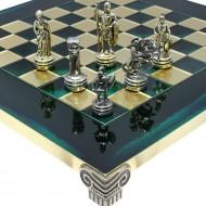 "Шахматы S03-03 28х28, Manopoulos, ""Война"""