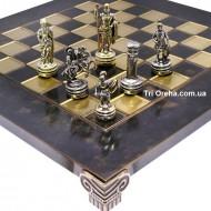 "Шахматы S03-02 28х28, Manopoulos, ""Война"""